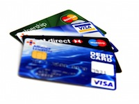Kreditkarte Zahlungsmethode