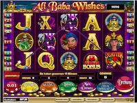Ali Baba Wishes Spielautomat