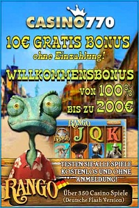 10 ohne EInzahlung + 100% Bonus