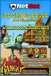 NetBet Casino - 10� gratis