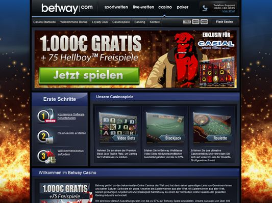 betway online casino bewertung