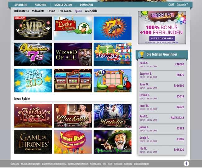 geld gewinnspiel seriös casino