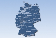 spielbank deutschland karte Landkarte mit Spielbanken und Casinos in Deutschland