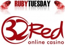 Ruby Tuesday Promotion im 32Red Casino