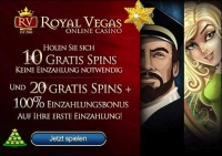 Royal Vegas Weihnachts Promo