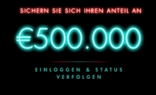 500.000€ Baccarat Dragon Master Promotion