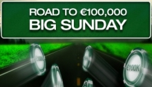 Road to €100,000 Big Sunday Promotion